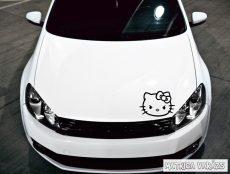 Ideges Hello Kitty tuning matrica (30x40 cm)