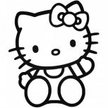 Hello Kitty matrica