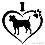 Jack russel terrier matrica 6