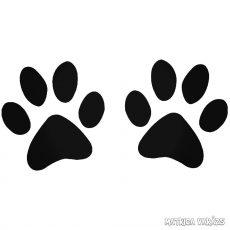Kutya tappancsok matrica