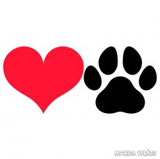 Love dogs matrica