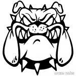 Angol bulldog matrica 6