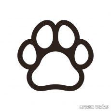 Szimpla kutyatappancs matrica