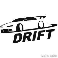 Autó drift - Szélvédő matrica