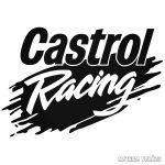 Castrol Racing - Szélvédő matrica