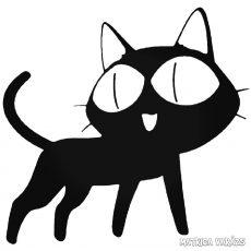 Anime macska matrica