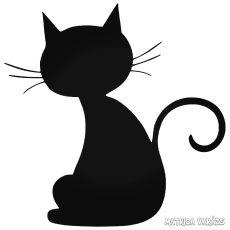 Ülő Macska matrica