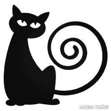 Kunkori farkú Macska matrica