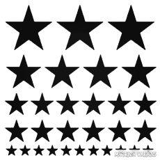 Csillag szett matrica