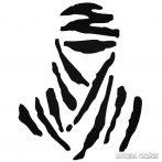 Dakar logó - Szélvédő matrica