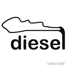 Diesel - Szélvédő matrica