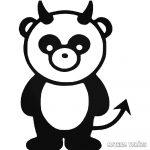 Gonosz panda matrica