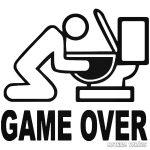 """Game Over """"1"""" Autómatrica"""