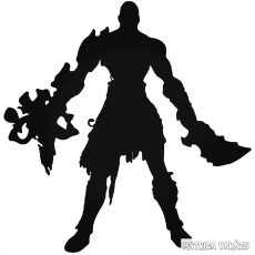 "God of War Kratos ""2"" matrica"