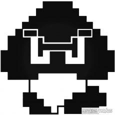 8-bit Goomba matrica