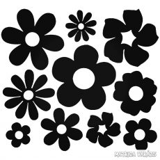 Retro virágok Autómatrica