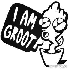 I am Baby Groot - Autómatrica