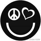 Peace Love Smiley - Autómatrica
