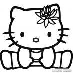 Hello Kitty matrica terpesz