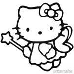 Hello Kitty matrica tündér