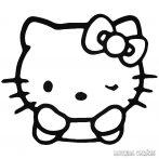 Hello Kitty matrica kacsint