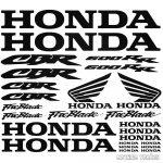 Honda CBR 600RR szett matrica