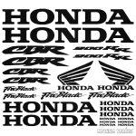 Honda CBR 900RR szett matrica