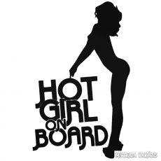 Hot Girl on Board - Autómatrica