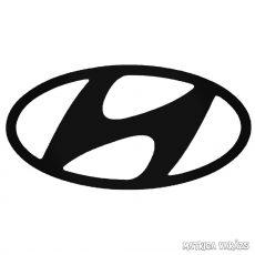 Hyundai embléma matrica