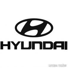 Hyundai embléma 1 matrica