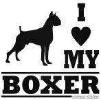 I Love My Boxer - Autómatrica
