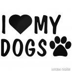 I Love My Dogs - Autómatrica