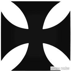 """Vaskereszt királyság """"1"""" Autómatrica"""
