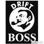 Drift BOSS - Szélvédő matrica