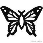 Pillangócska matrica