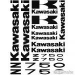 Kawasaki Z 750 Szett matrica