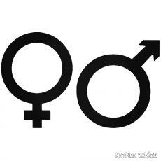 Férfi női jel Autómatrica