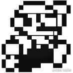 """Mario 8-bit """"1"""" matrica"""