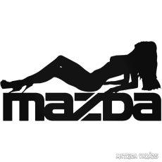 """Mazda Nő """"1"""" matrica"""