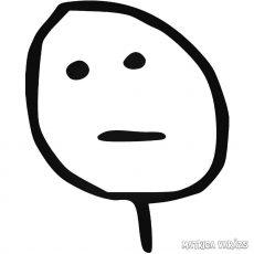 "Poker Face ""2"" meme Autómatrica"