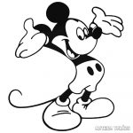 Vidám Mickey egér Autómatrica