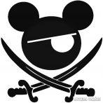 Mickey egér kalóz Autómatrica