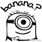 Minion banana - Autómatrica