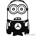 Minion Mercedes matrica
