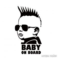Baby on Board Punk autómatrica