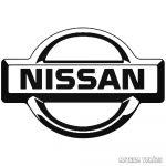 Nissan logó matrica