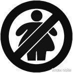 No FAT Chicks jelvény - Autómatrica