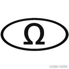 Görög Omega jel matrica