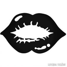 Csókot - Szélvédő matrica
