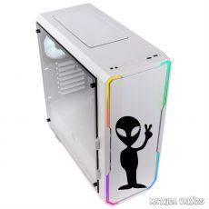 Alien Peace - Szélvédő matrica